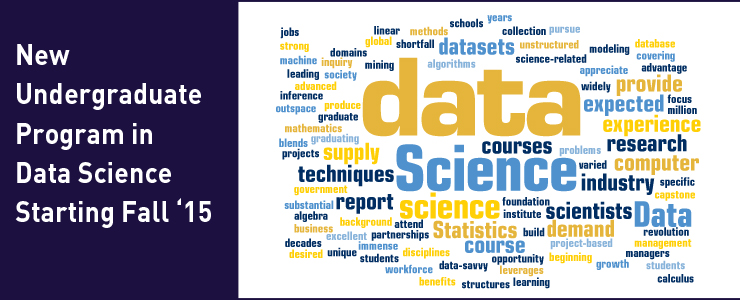 New Program in Data Science Announced