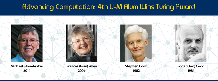 Turing Award Winners at U-M